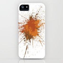Splatter #12 iPhone Case