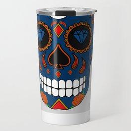 Rey de las calaveras  Travel Mug