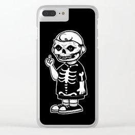 FIENDNUTS Clear iPhone Case