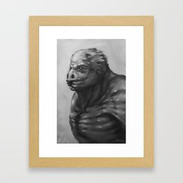 bird mutation Framed Art Print
