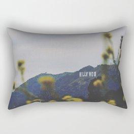 Quiet Hollywood Rectangular Pillow