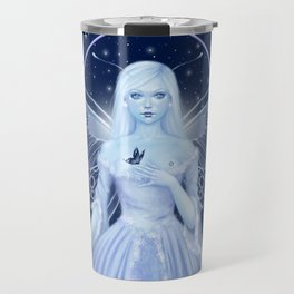 Snow Fairy Travel Mug