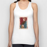 chihiro Tank Tops featuring The Chihiro of Hearts by Dampho