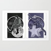 stucky Art Prints featuring stucky space by maria euphemia