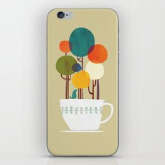 Life in a cup iPhone Skin
