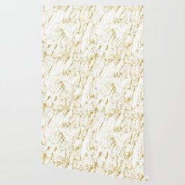 Gold finery pattern Wallpaper