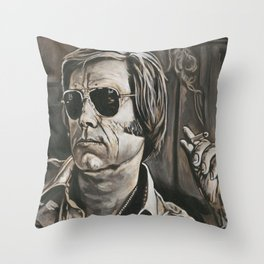 George Jones Throw Pillow