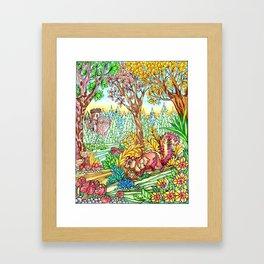 Art by Augusta Schinchirimini Framed Art Print