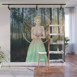 Spring Woodland Fairy Wall Mural