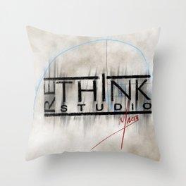 ReThink Studio Marty Sketch Throw Pillow