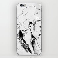 enjolras iPhone & iPod Skins featuring Enjolras by Pruoviare