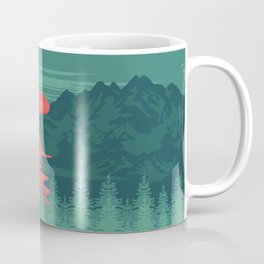 The Red River Coffee Mug