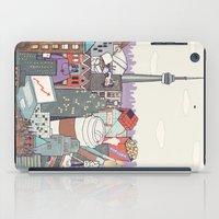 toronto iPad Cases featuring Toronto by Ashley Ross