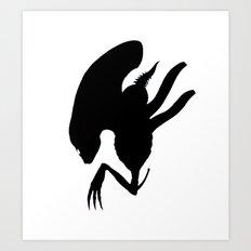 Alien Drone Art Print