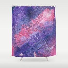 Galaxy - Pink & Purple Shower Curtain