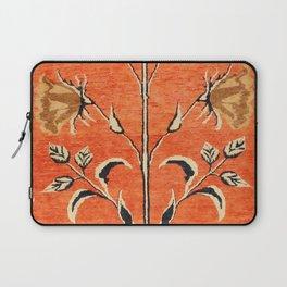 Vintage Floral Persian Rug Print Laptop Sleeve