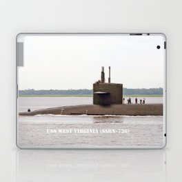 USS WEST VIRGINIA (SSBN-736) Laptop & iPad Skin