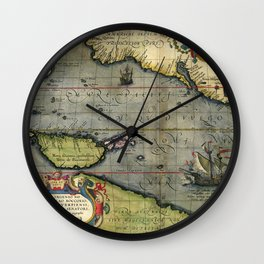 Maris Pacifici Wall Clock