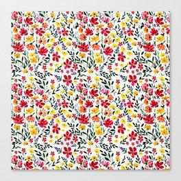 The Garden Patch Canvas Print