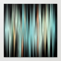 Colorful Abstract Stripes Canvas Print