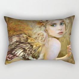 Touch of Gold - Fairy Rectangular Pillow