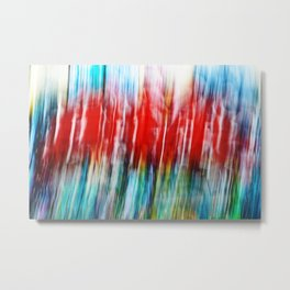Abstract Graffiti on a Wall Metal Print