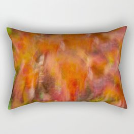 Autumn Smear Rectangular Pillow