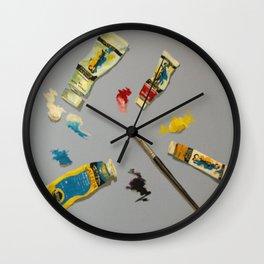 Palette Wall Clock