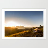 The Perfect Campsite Art Print
