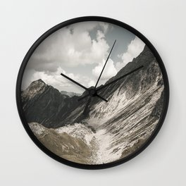 Cathedrals - Landscape Photography Wall Clock