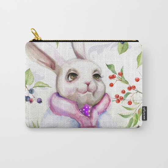 Winter animal #7 Carry-All Pouch