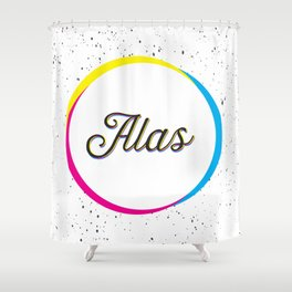 ALAS Shower Curtain