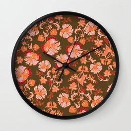 70s Lets Rock Flower Wall Clock