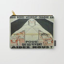 Vintage poster - Musee des Instruments de Medecine Carry-All Pouch