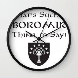 Boromir Wall Clock