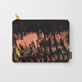Cityscape technology microchip urban intricate pattern texture geometric background Carry-All Pouch