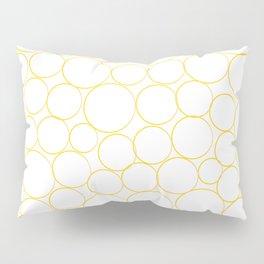 Circled in Gold Pillow Sham