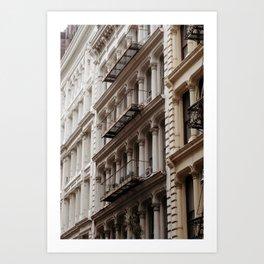 soho is for lovers Art Print