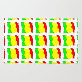 Flag of mali -mali,malien,malienne,malian,bamako,tombouctou,timbuktu,sikasso,mopti,mande Rug
