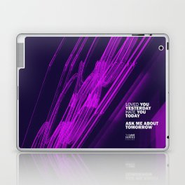 The Love Series 200 Purple Laptop & iPad Skin