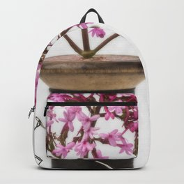 Wooden Vase Backpack