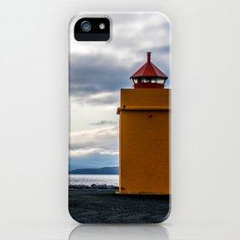 Lighthouse at the Point iPhone Case