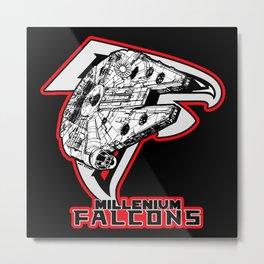 Millenium Falcons Metal Print