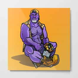 Thanos Metal Print
