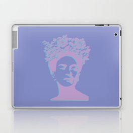 frida kahlo (purple version) Laptop & iPad Skin