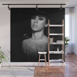 Lauren Jauregui 'Reflection' Digital Painting  Wall Mural