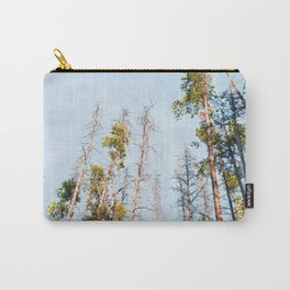 Big sky Country from the woods Carry-All Pouch