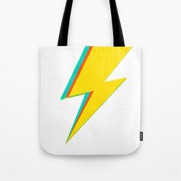 Lightning bolt (yellow Version) Tote Bag