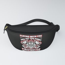 Playing with Fire Will Get You Burned  Vintage Fanny Pack
