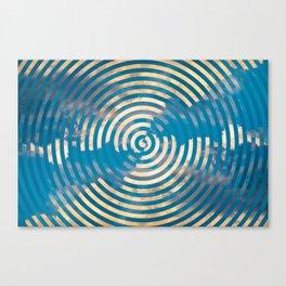 Topsy Turvy Canvas Print